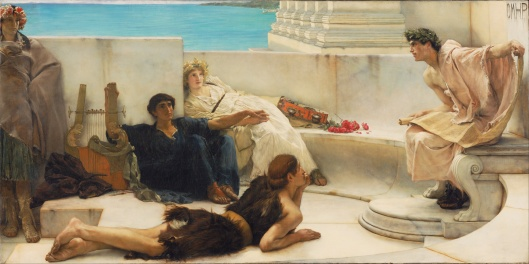 Sir_Lawrence_Alma-Tadema,_English_(born_Netherlands)_-_A_Reading_from_Homer_-_Google_Art_Project